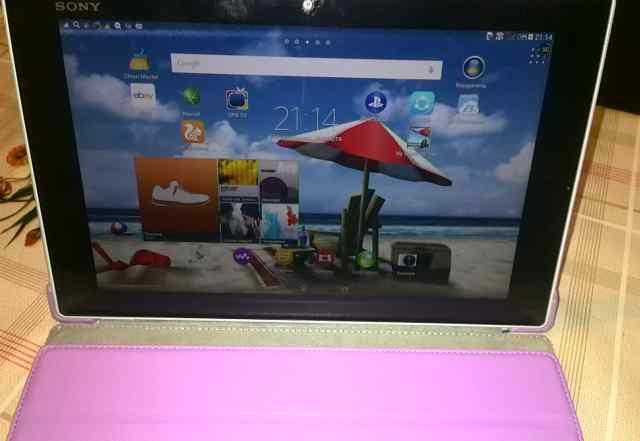 Sony Xperia TabletZ 16GB LTE 4gростест, чехол кож