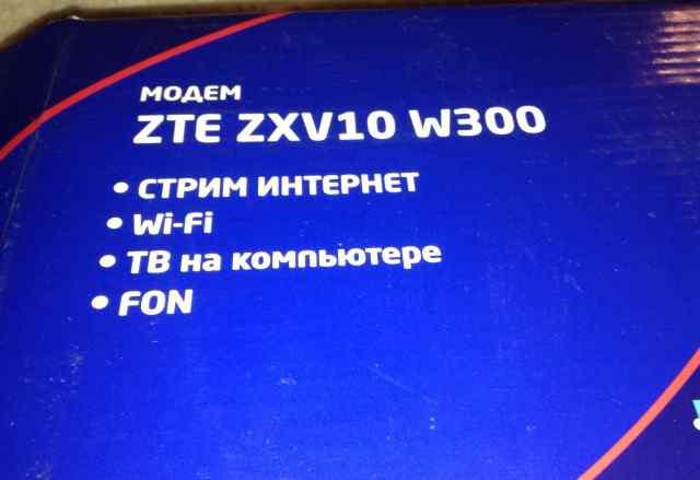 Router ZTE ZXW10 W300