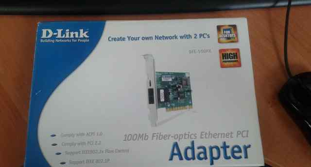 Сетевой адаптер D-Link DFE-550FX Rev. B3