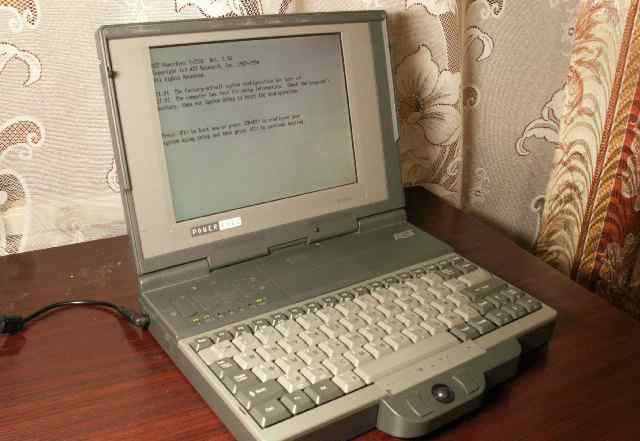 Предлагаю ретро. Ноутбук AST PenExec 3/25 SL