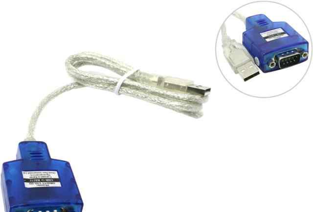 Кабель-адаптер USB AM COM DB9M(RS232)