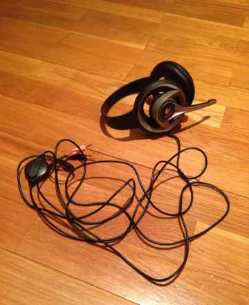 Наушники с мик. Logitech Precision Headset