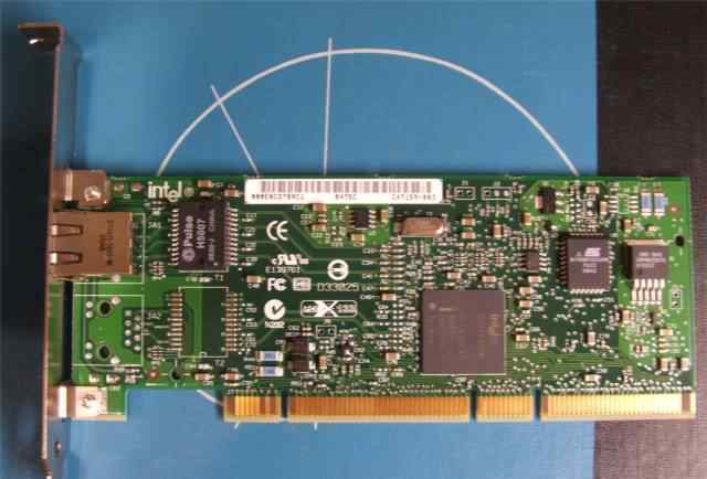 Сетевая карта Intel pro 1000 MT desktop adapter