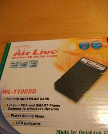 SD wlan Card (WiFi SD карта) WL-1100SD