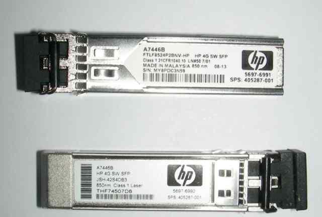 A7446B Трансивер HP 4GB SW Single Pack SFP
