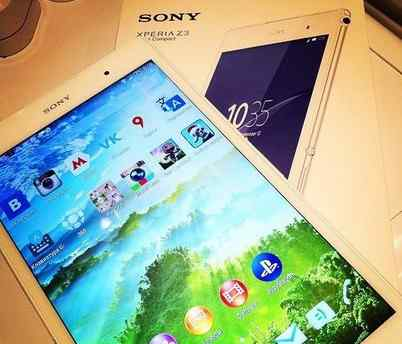 Sony Experia z3 Tablet Compact