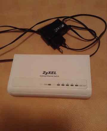 Коммутатор zyxel ES-105S 5 портов