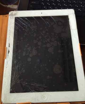 iPad 2 (32 gb) разбито стекло экрана