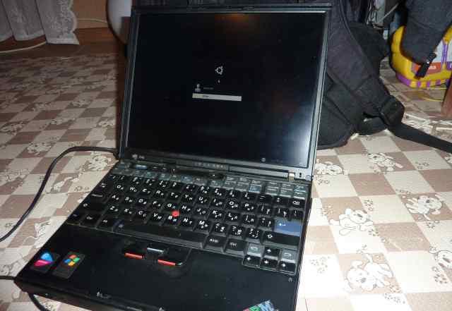 Ноутбук IBM ThinkPad X40