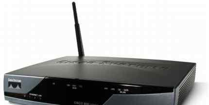 Беспроводной роутер Cisco 851W