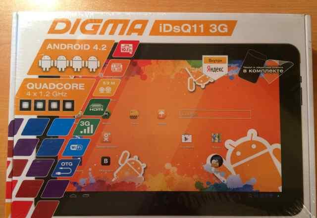 Планшет Digma iDsQ11 3G