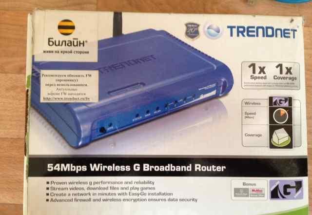 Маршрутизатор (роутер) TrendNet tew-432brp