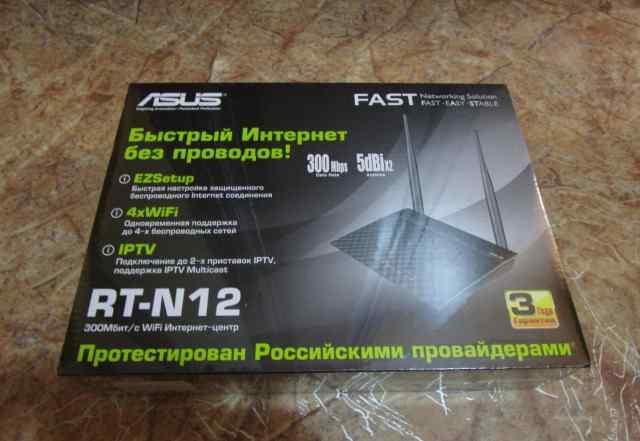 Asus RT-N12 Беспроводной интернет